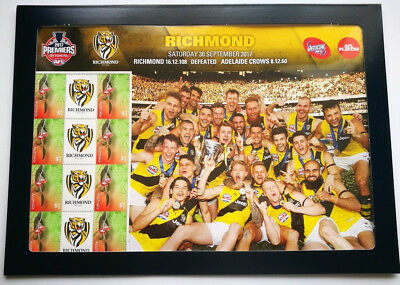 2017 AFL Premiers - Richmond Stamp Sheet