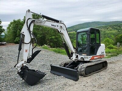 2009 Bobcat T320 Track Skid Steer High Flow Forestry Pkg Forestry Mulcher!