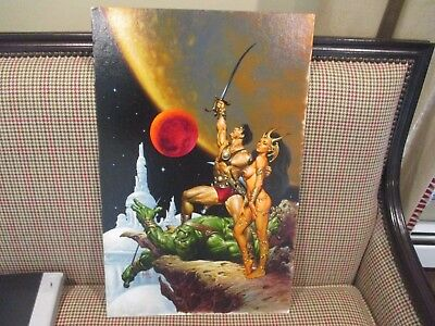 JOHN CARTER WARLORD OF MARS #1 Original Comic Book Cover Art Joe Jusko