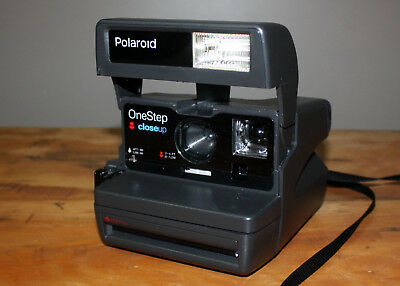 Polaroid One Step Close Up 600 Instant Camera - Exc Cond, Tested & Working