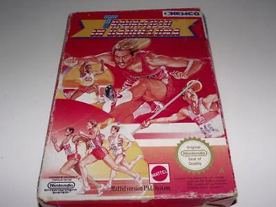 Track and Field in Barcelona Nintendo NES Boxed PAL *No Manual*