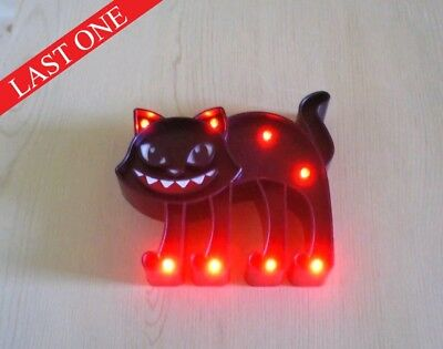 BLACK CAT LED Light-Up Table or Wall Decoration NEW