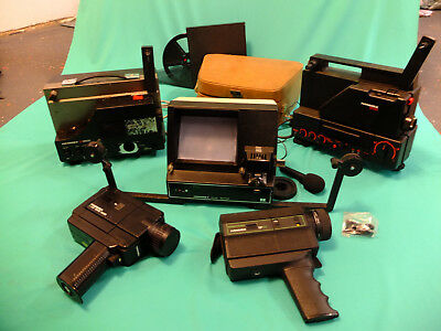 Hanimex Super-8 SUPER PACK! Cameras, Projectors and Editor COLLECTIBLE