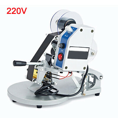 220V Hot Foil Stamping Printer Thermal Ribbon Date Code Trademark Printing