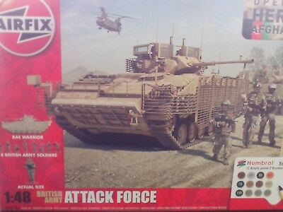 British Army Attack force, 1:48, Airfix A50161