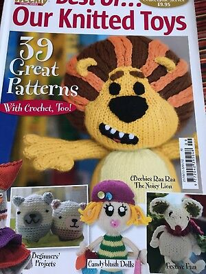 Best Of Our Knitted Toys Woman's Weekly Knitting Pattern Magazine