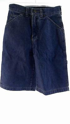 Arizona Carpenter Boys size 12 Cotton Shorts Blue Denim Designer Kids Childrens