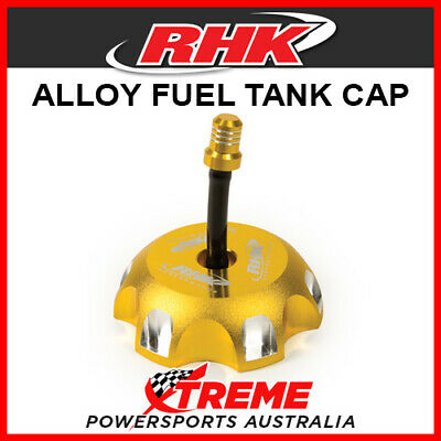RHK Honda CRF250R CRF 250 R 2004-2018 Gold Alloy Fuel Tank Gas Cap, 65mm ID