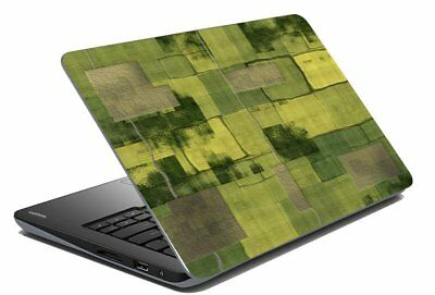 "Green Laptop Skin Protector Stickers Decal Notebook Cover Fits 14.1"" To 15.6"""