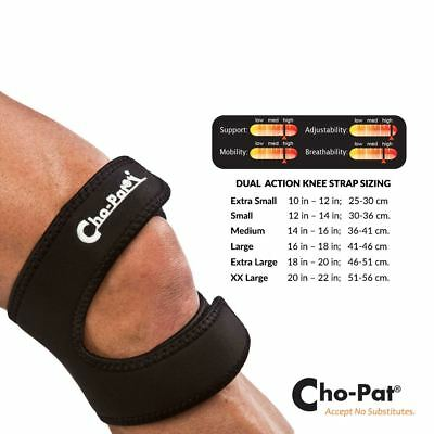 Cho-Pat Dual Action Knee Strap | Supports Weak or Injured Knees