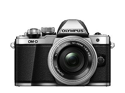 Olympus OM-D E-M10 Mark II Compact System Camera in Silver (ML1495)