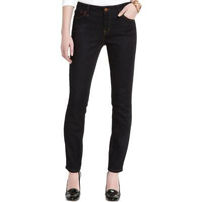 Tommy Hilfiger 4659 Womens Low Rise Classic Fit Dark Skinny Jeans BHFO