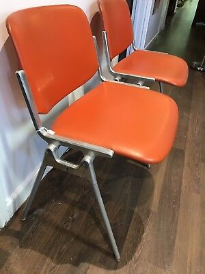 Superb Pair Of 1970's Italian Designer Chairs. Open To Offers.