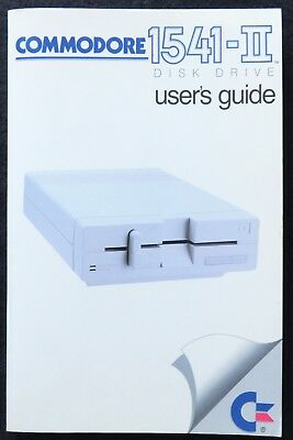 COMMODORE 1541-II DISK DRIVE Original User's Guide -in English-