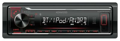 Kenwood KMM-BT204 MP3-Autoradio mit Bluetooth USB iPod AUX-IN