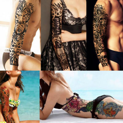 UK Large Full Arm Sleeve Temporary Sleeve tattoos for adults that look Real