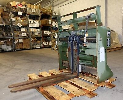 "40"" Skytrak Atlas 6,000 lb Capacity Side Shift Forklift Carriage Set For Parts"