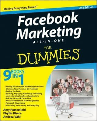 Facebook Marketing All-in-One For Dummies ebook-pdf FREE SHIP