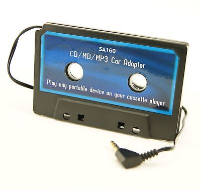 Ex-Pro iPOD MP3 Audio Player Car Cassette Adapter for the ipod or any MP3 player