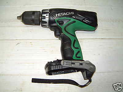 hitachi dv18dvc drill  good working order just the body push in battery