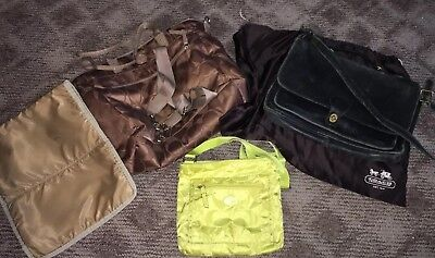 Coach Diaper Bag, Crossover And Briefcase Lot