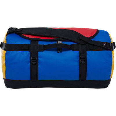 North Face Base Camp Small Unisex Bag Duffle - Bright Cobalt Blue Tnf Black
