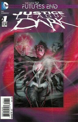 JUSTICE LEAGUE DARK FUTURES END #1 (DC 3D Cover 2014 1st Print)