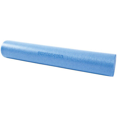 Fitness Mad Foam Roller 90cm Unisex Sports Recovery Massage Tool - Blue One Size