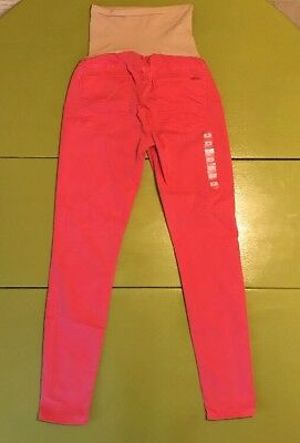 Hudson Maternity Jeans, Red, Size 29, New