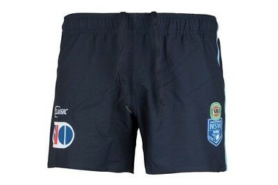 NSW Blues Rugby League Playing Shorts (2XL) Bnwt