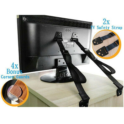 TV & Furniture Anti-tip Safety Anchor Straps, Earthquake Safe, Child & Baby
