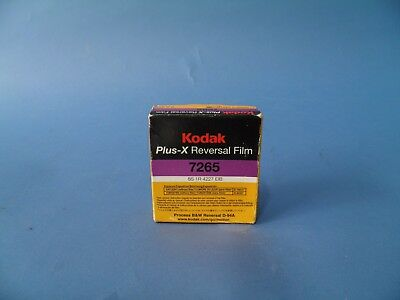 Kodak Plus X Reversal Film #7265
