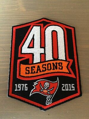 Tampa Bay Buccaneers Trikot Patch Aufnäher 40 Season NFL