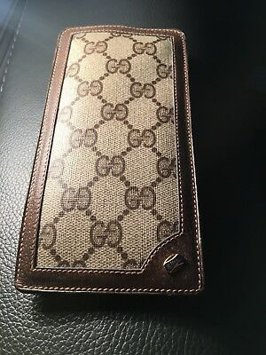 Authentic Gucci Monogram Gg Eye/sun Glass Case Vintage Very Rare Mint Condition