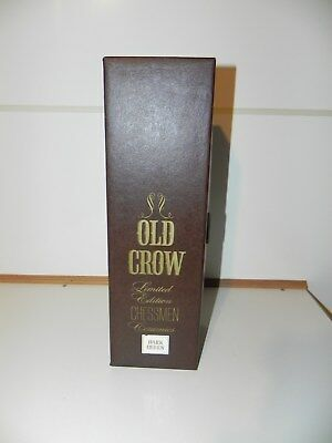 Old Crow Limited Edition Dark Queen Chess Piece