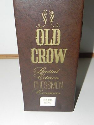 Old Crow Limited Edition Dark King Chess Piece