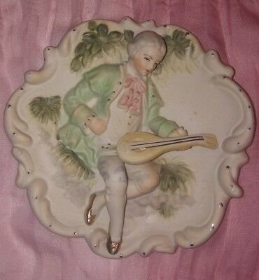 """6"""" Sandrea Hand Painted Plate, Occupied Japan"""