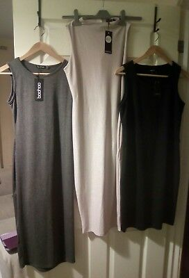 Ladies size 12 dress bundle, BNWT, from Boohoo and Papaya