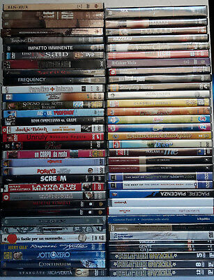 Lotto/Stock: 66 Dvd ORIGINALI (44 Film + 1 Box + 4 Edizione Speciali...)