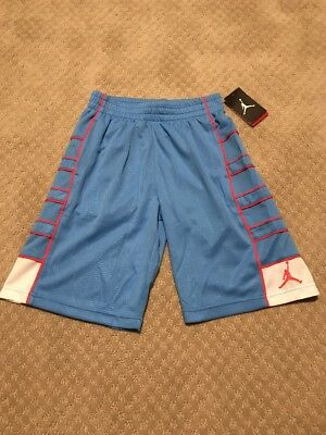 NWT Air Jordan Boys University Blue Shorts Size Medium 10-12