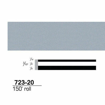 3M Scotchcal Striping Tape, Silver Starfire, 5/16 in. x 150 ft. 72320 new