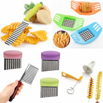 Stainless Steel Potato Cut Slicer Chip Dough Vegetable Crinkle Wavy Cutter Blade