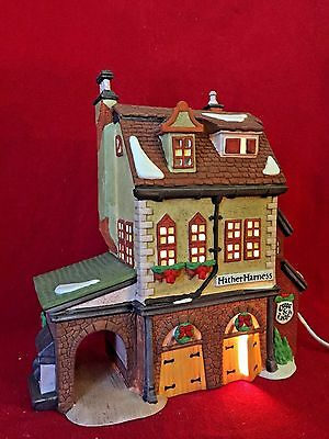 Hather Harness Dept 56 Dickens Village 58238 Christmas heritage Victorian shop