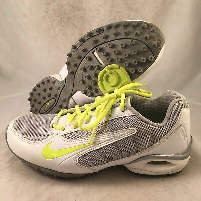 Nike Air Team Destroyer 3 Lacrosse - 415182-107 - White - Women's Size 7-Great