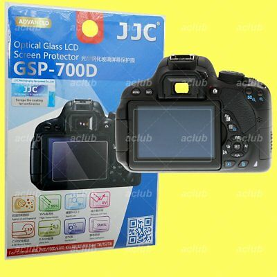 JJC GSP-700D 0.3mm Optical 9H Tempered Glass LCD Screen Protector Canon EOS KISS