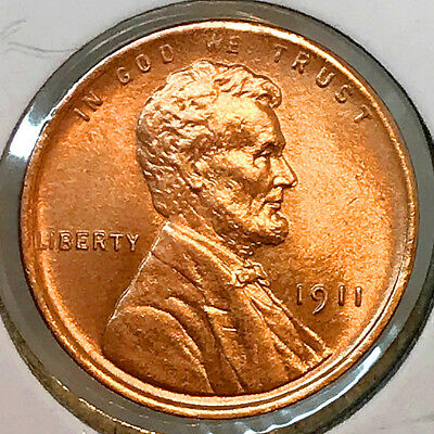 Superb - 1911 P Lincoln Wheat Cent - Gem BU / MS RD / UNC - High Grade Coin