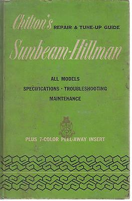 Sunbeam Alpine Series I Ii Iii Iv V & Tiger 260 1959-1966 Owners Repair Manual