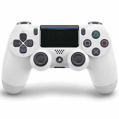 White Real Wireless Play Station 4 PS4 Dualshock 4 Joystick Gamepad Controller