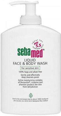Sebamed Face and Body Wash, 1L