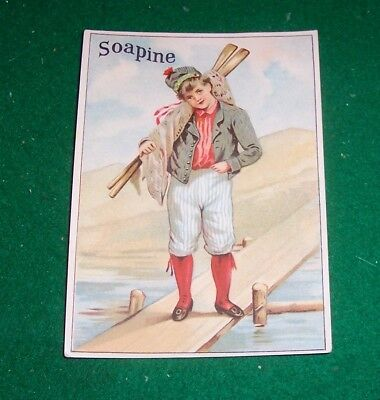 KENDALL MFG. CO.,Providence, R. I. - Trade Card - SOAPINE works - No Matter What